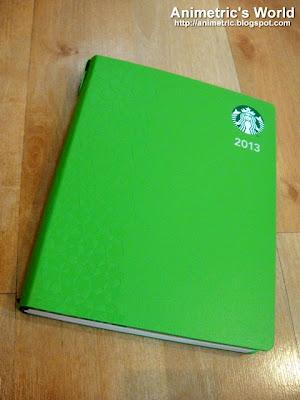 Starbucks 2013 Planner Philippines
