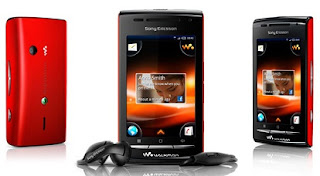Sony Ericsson W8: Android Walkman Phone