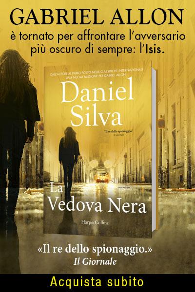 La vedova nera di Daniel Silva
