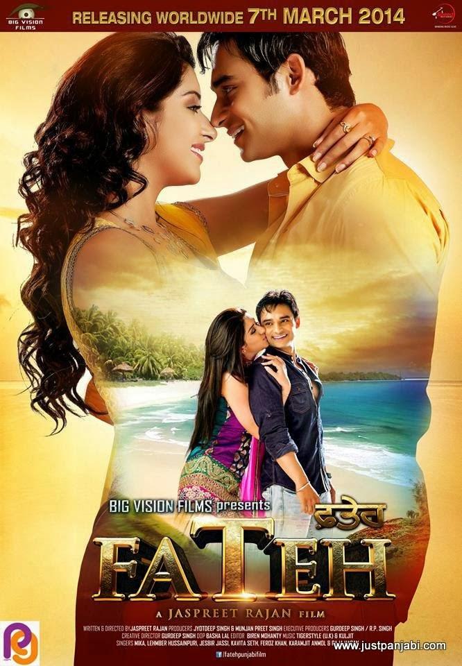 poster punjabi film fateh nav bajwa hot samiksha singh