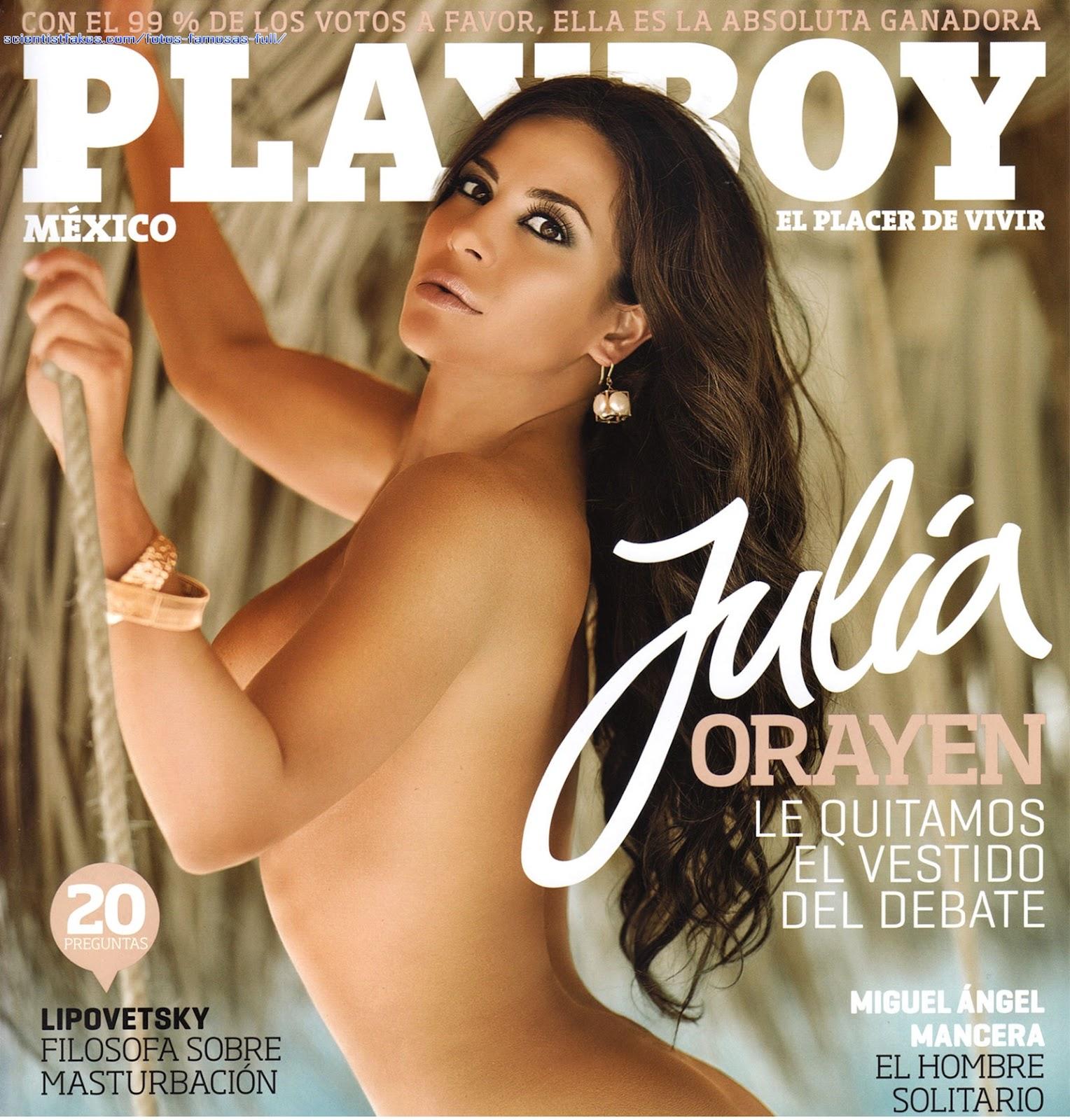Playboy Julio 2012 (6-2012) Mexico, anteriormente poso para playboy