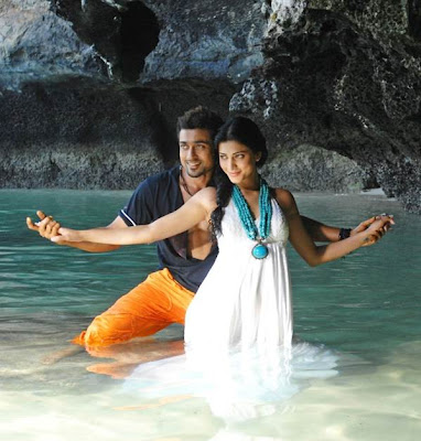 Shruthi Hassan and Surya Photos and Stills from 7aam Arivu Tamil Movie
