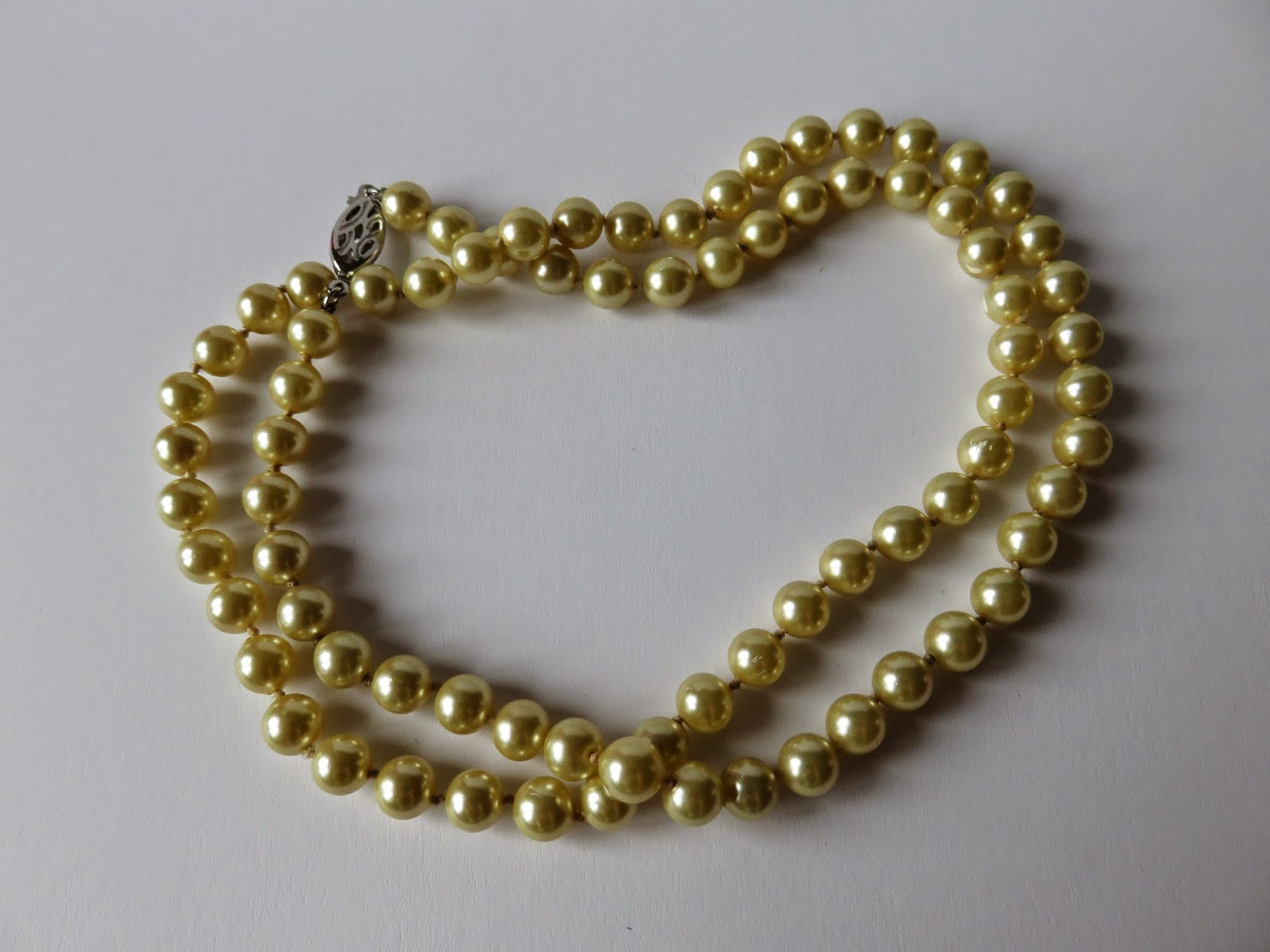 pearls necklace parels ketting