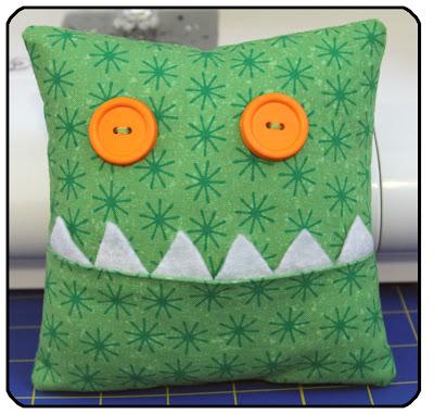 Cute Monster Pillow : It s Sew Stinkin Cute: It s Stinkin Cute Craft Thursday #59
