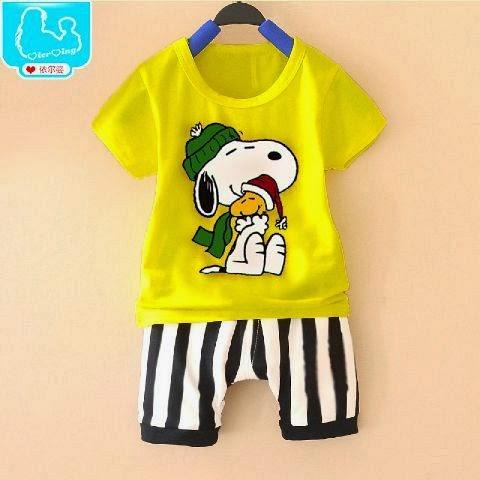 Setelan Anak Snoopy Christmas - Baju Apinigo - Baju Natal - Harga Saudara