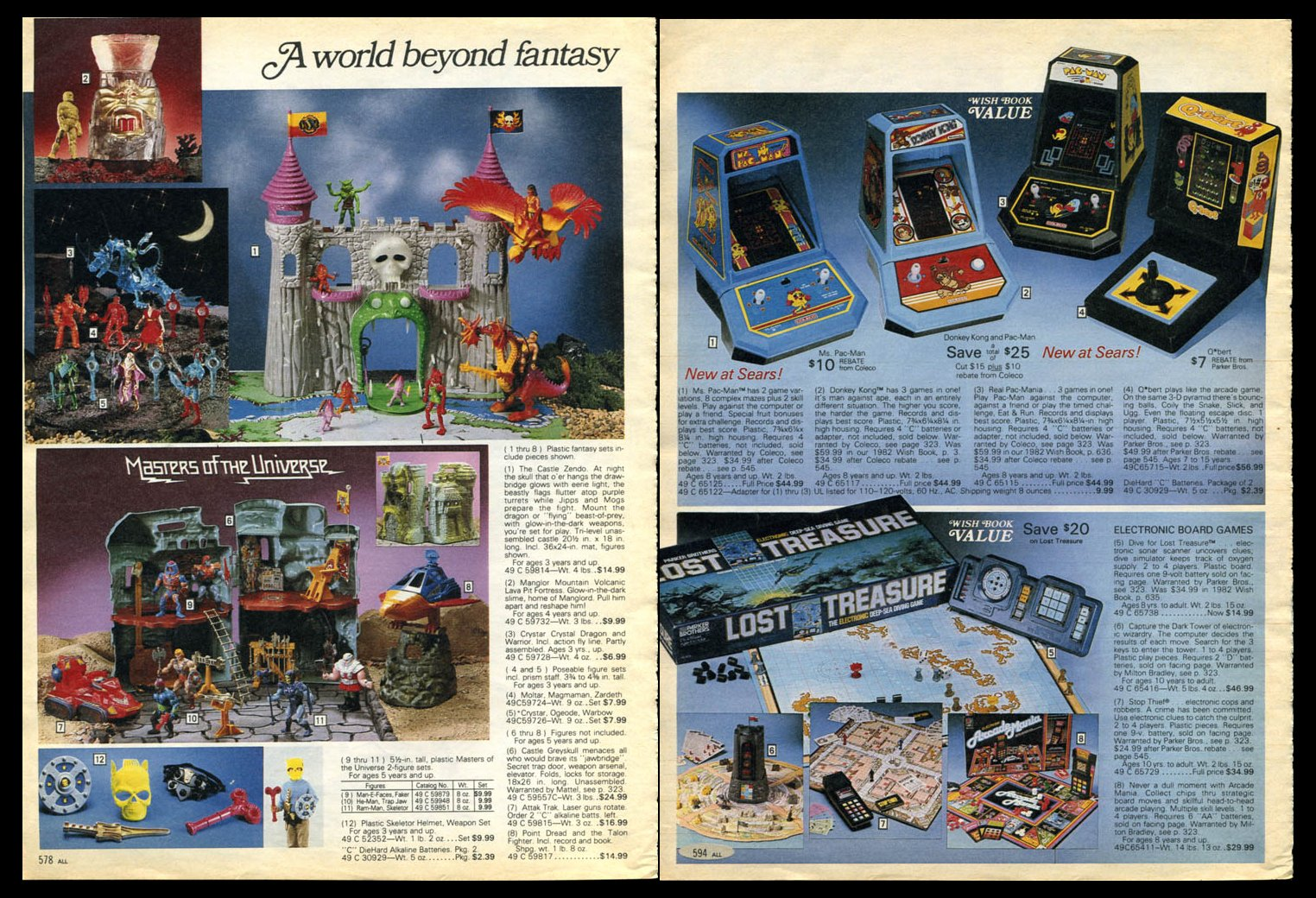 sears christmas catalog 1983 - Sears Christmas Catalog