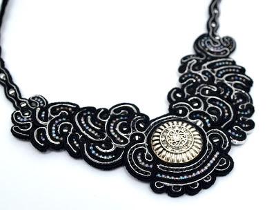 sutasz naszyjnik soutache necklace 3