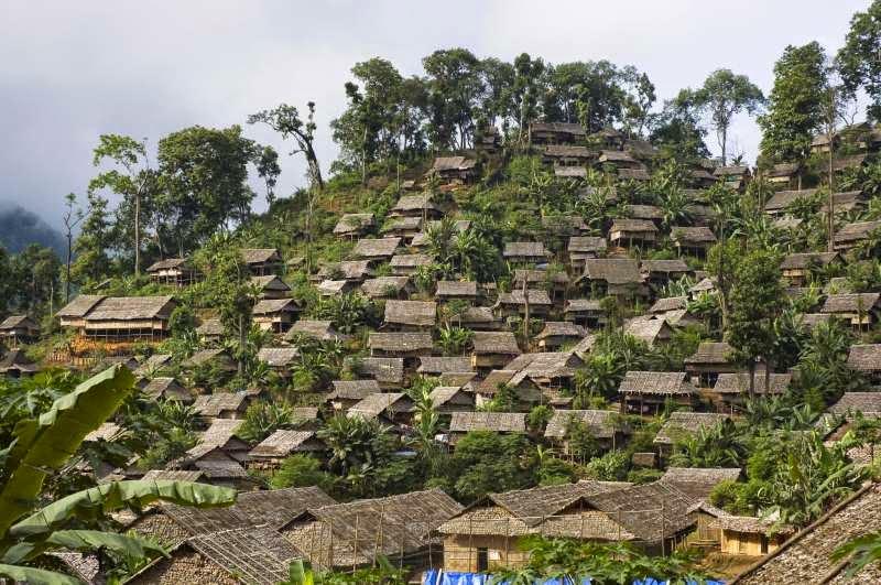 Flüchtlingslager Karen in Thailand