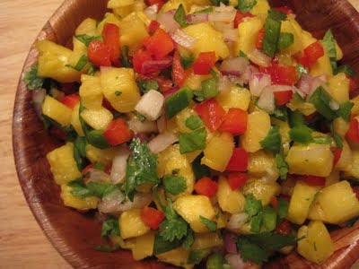 Harter House World Flavors: Grilled-Pineapple Salsa