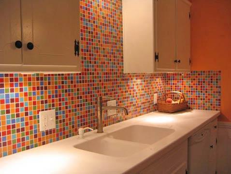 this 39 n that thursdays crazy colorful kitchen backsplashes