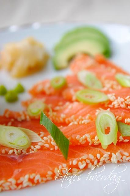 Sushi av Salma laks