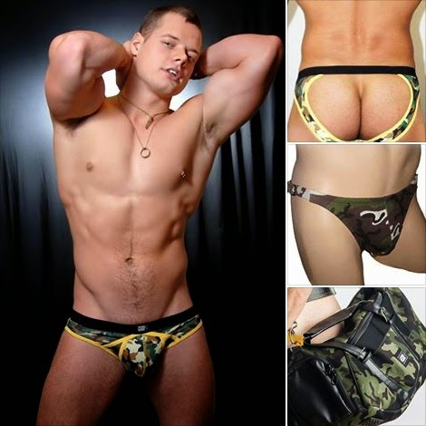 GBGB Wear Men's Underwear Camouflage prints