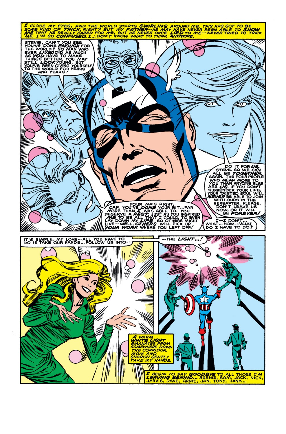 Captain America (1968) Issue #326 #255 - English 22