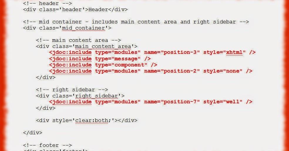 jdoc añadir posiciones de módulo | Taller para crear plantillas de ...