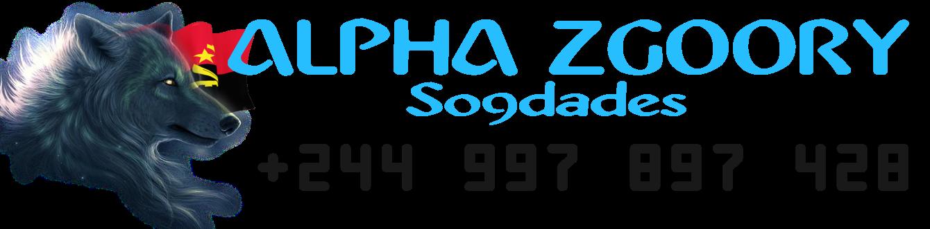 Alpha Zgoory | Só9dades - Site Angolano de Novidades