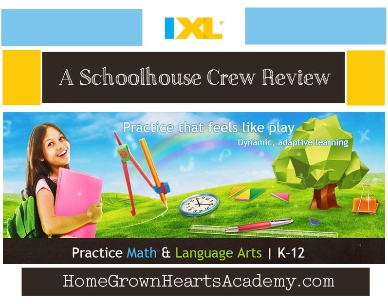 Home Grown Hearts Academy Homeschool Blog: IXL ~ Review