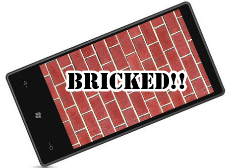 Bricked? : Be careful while experimenting with your device