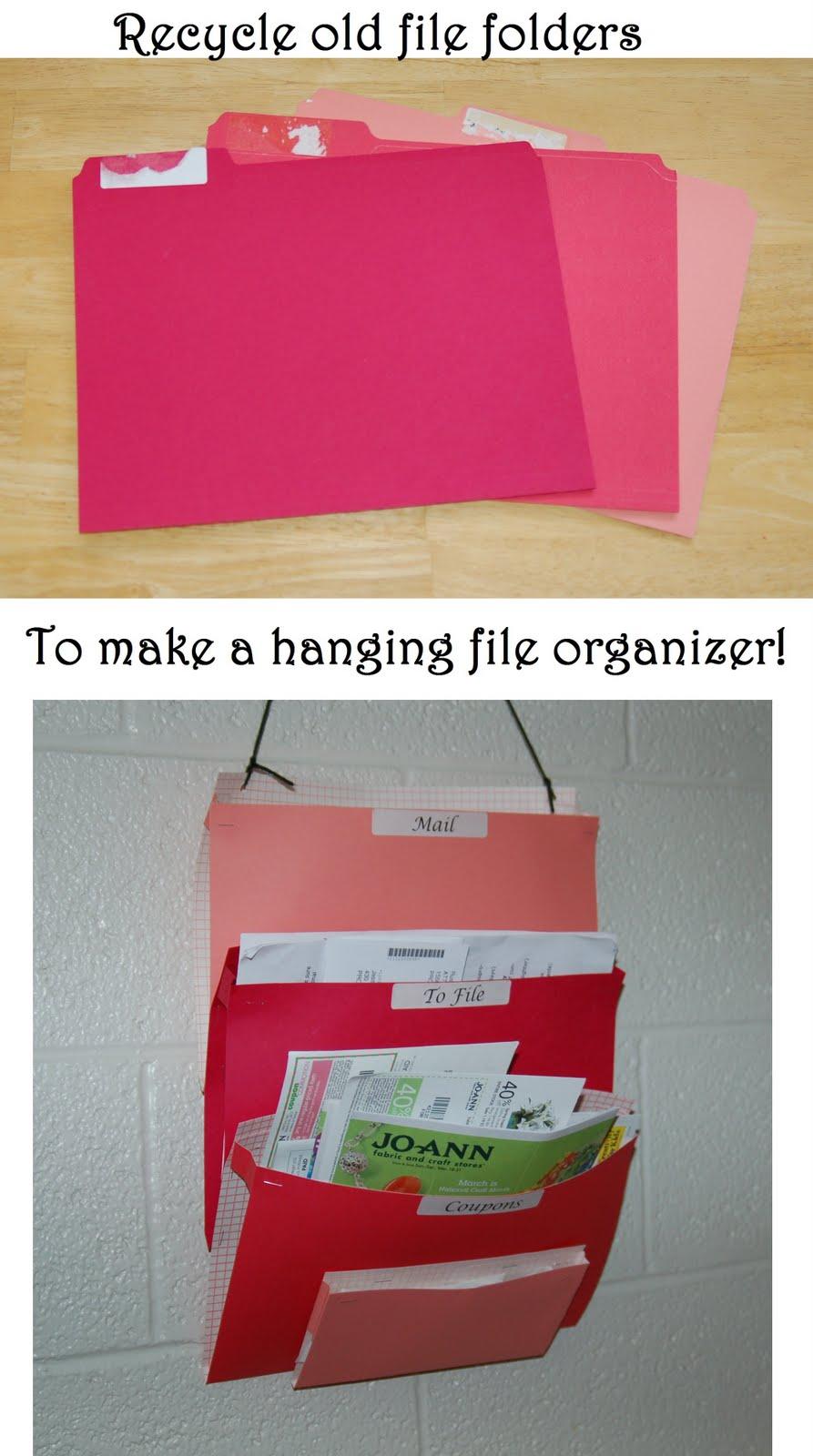hanging file organizer