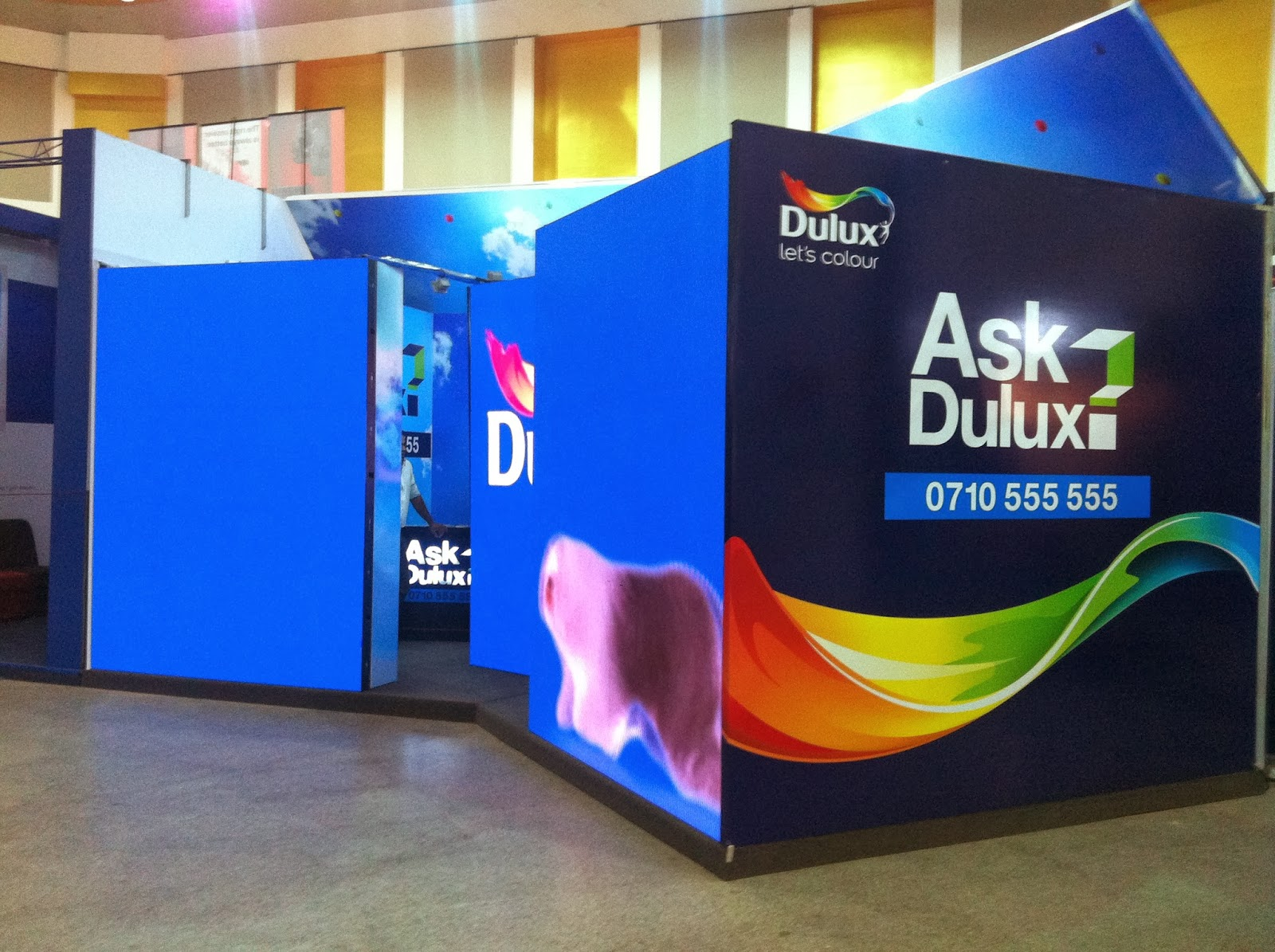 The Ask Dulux consultation lounge at The Architect 2014.