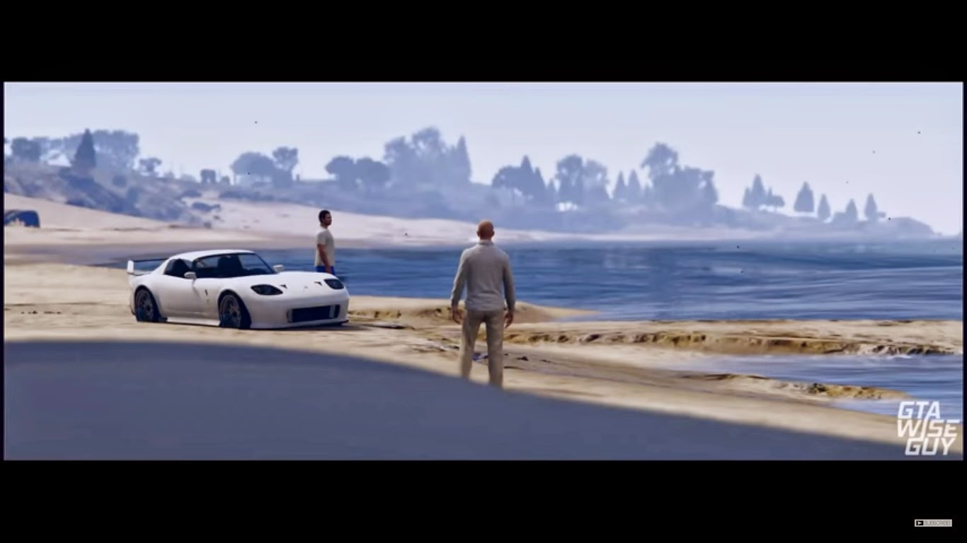 Charlie Puth GTA 5 Furious 7 Paul Walker Tribute