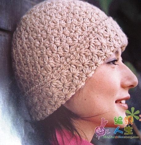 Красивые узоры для женских шапок видео
