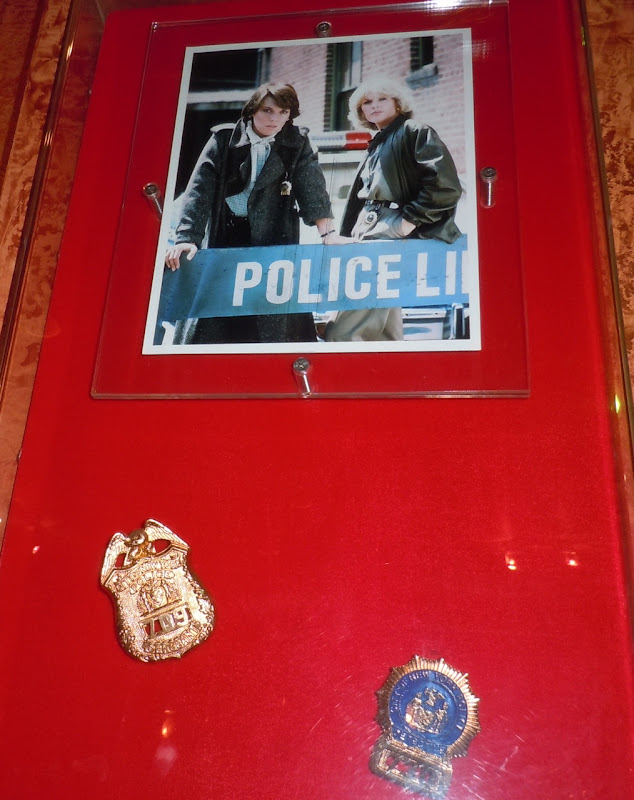 Cagney and Lacey TV show police badges