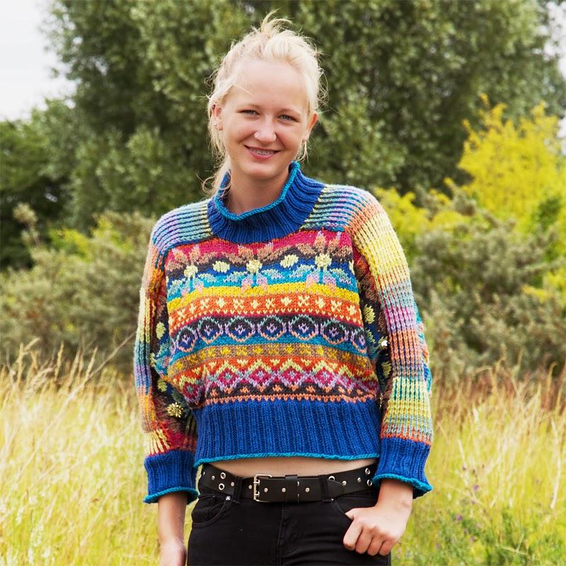 Garam Masala, Spiced knitting, Charlotte Kaae design, www.bykaae.dk