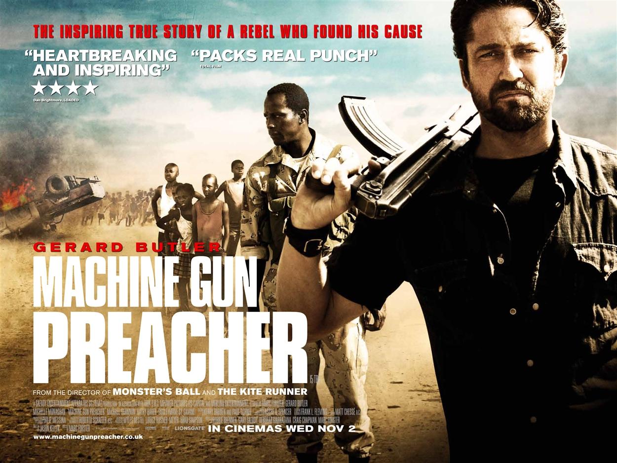 machine gun preacher free
