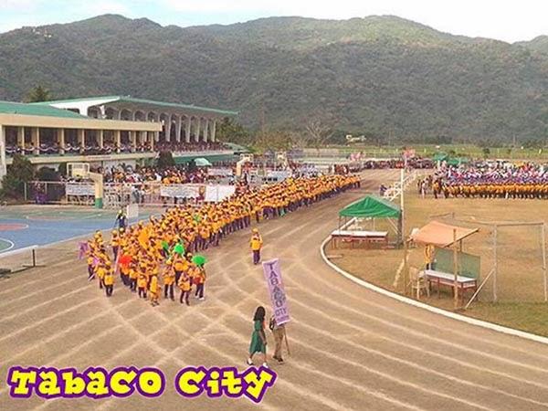 Palarong Bicol 2014 Tabaco City Delegation
