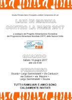 SABATO 10 GIUGNO 2017 - LARI IN MARCIA CONTRO LA FAME