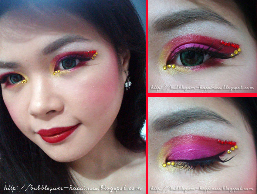 bubblegum-happiness: ??? IBB Makeup Challenge : Must Have Red ...