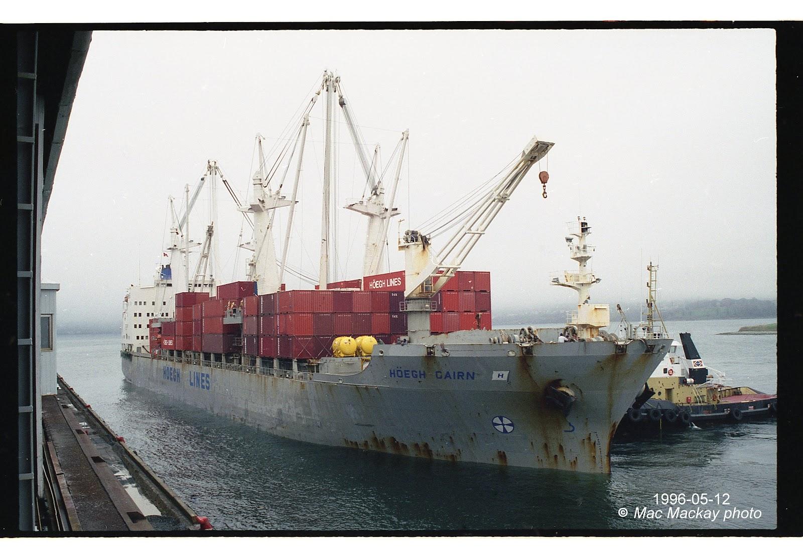 Shipfax: Höegh ships