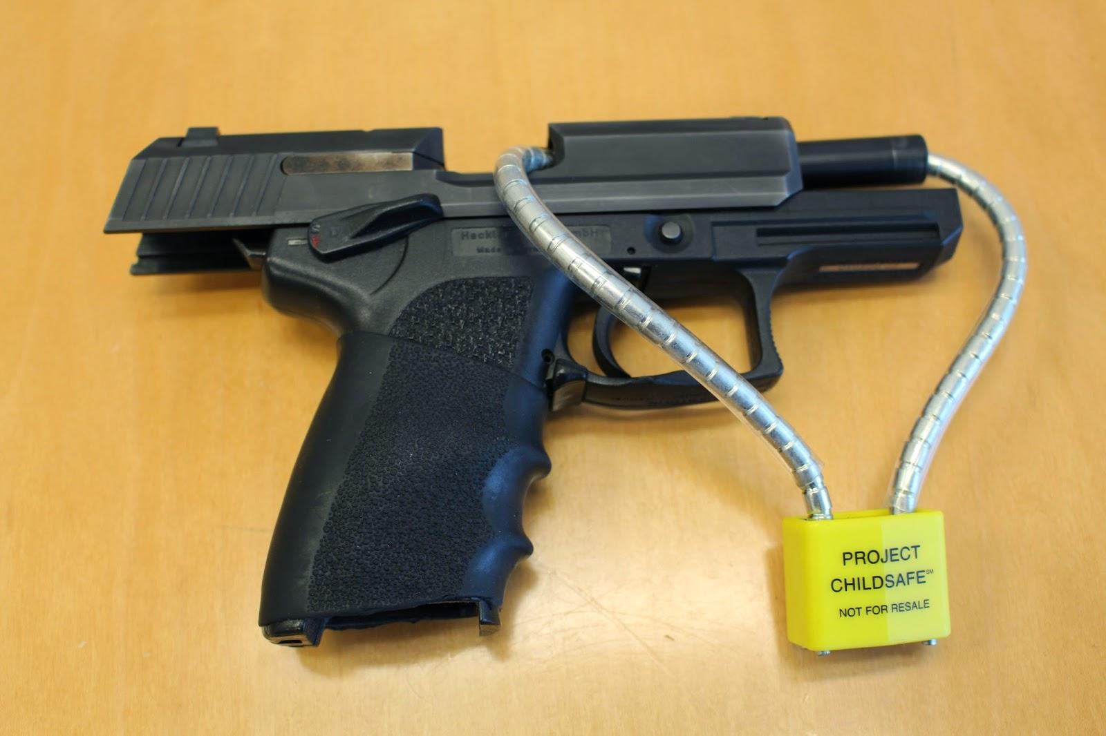 Gun Safety Locks : Santa cruz police free gun locks available at scpd