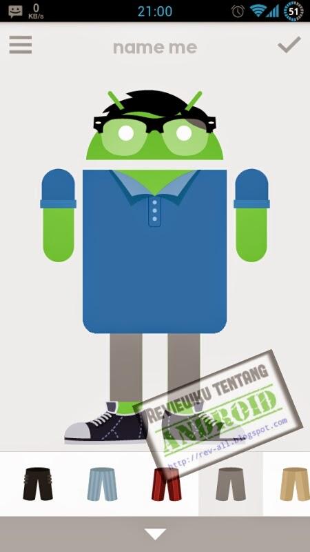 Tampilan utama ANDROIDIFY versi 2.0 - aplikasi android untuk membuat gambar gerak robot android (rev-all.blogspot.com)