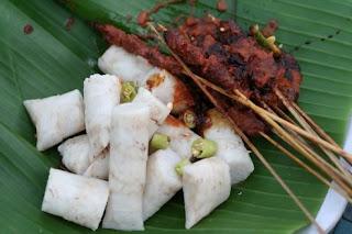 LOmbok Food - sate Bulaya