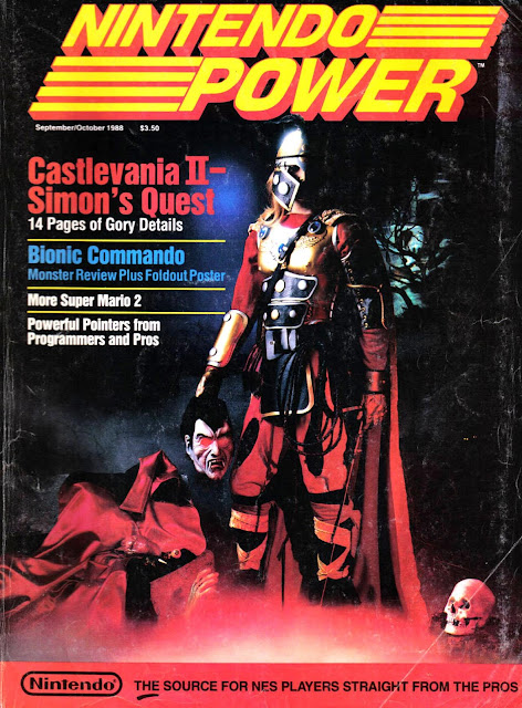 The controversial cover of Nintendo Power's second issue