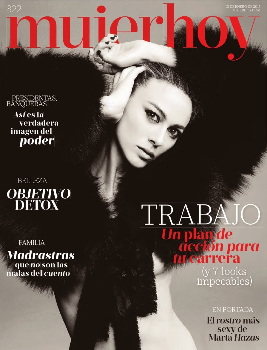 Marta Hazas - Mujer Hoy Magazine, Spain, January 2015
