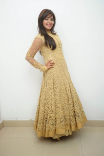 Actress Anjali Latest Pictures in Long Dress=at Geethanjali Success meet  67)