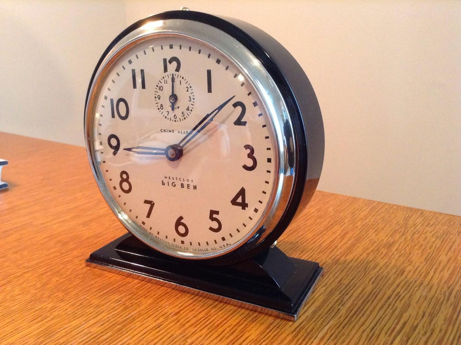 Project 34 1935 Westclox Big Ben Chime Alarm Uncle Lems Clock Shop
