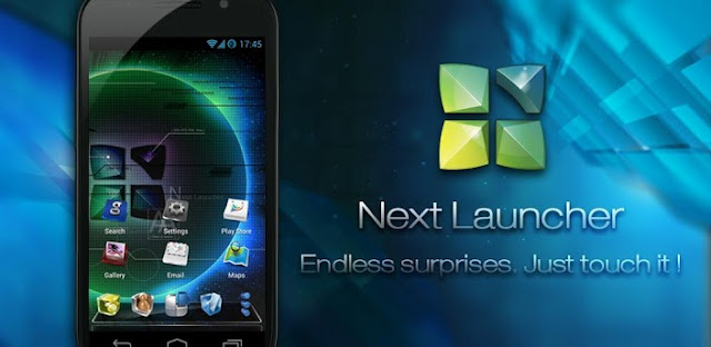 Next Launcher 3D v1.28 Apk Full App