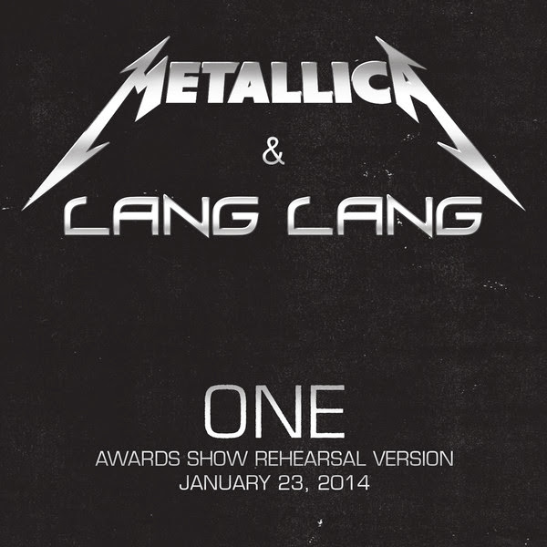 Metallica - One (Awards Show Rehearsal Version) [with Lang Lang] - Single Cover