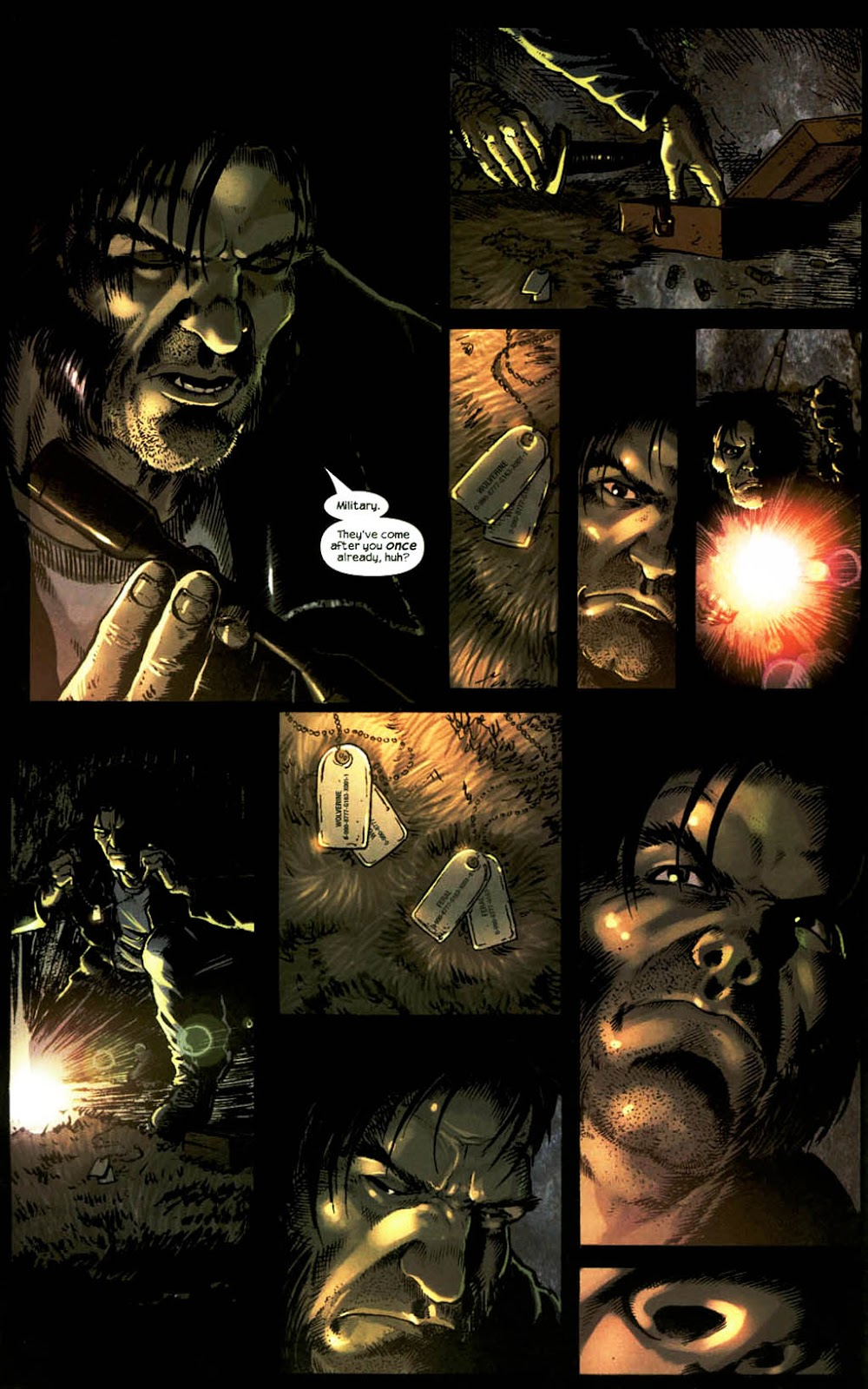 Read online Wolverine (2003) comic -  Issue #14 - 19