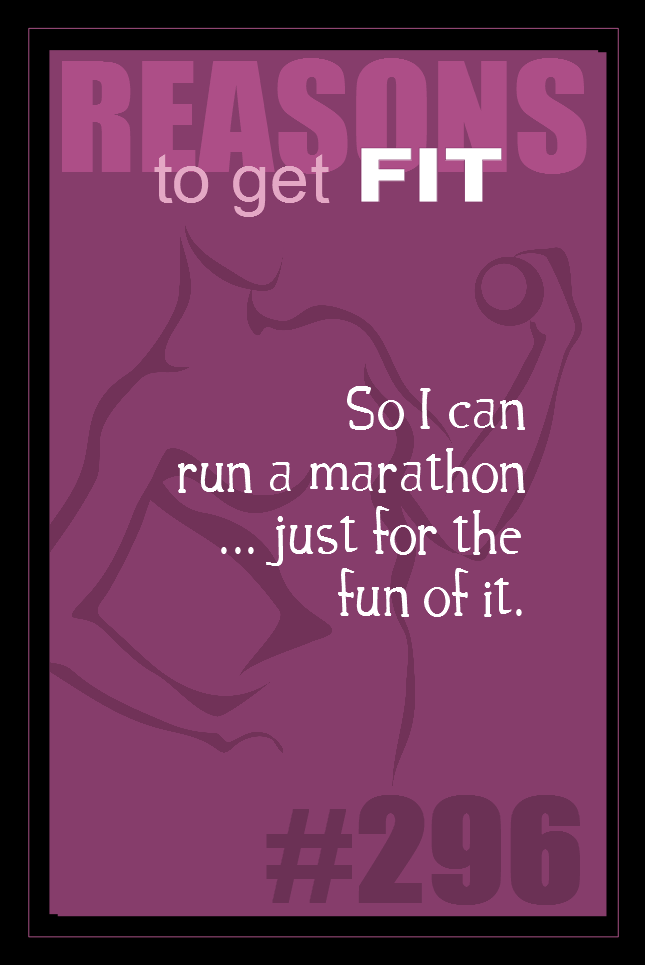 365 Reasons to Get Fit #296