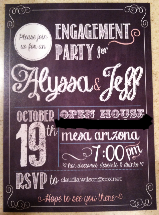 sincerely truly scrumptious Engagement Party All The Details – Best Engagement Party Invitations