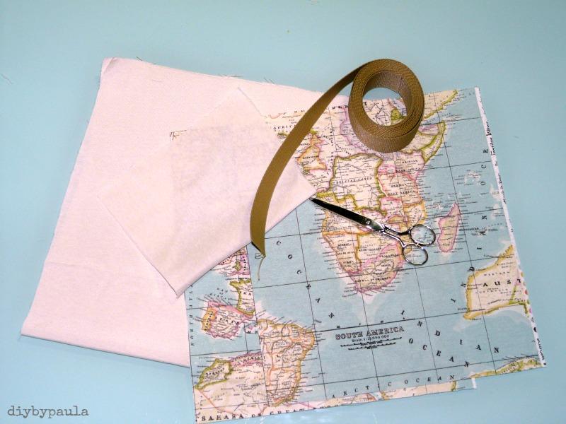 Bolsa mapamundi