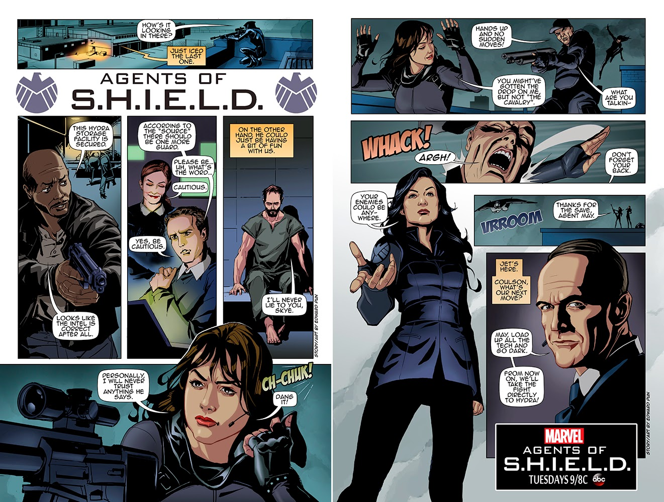 Agents of Shield Cover Agents of Shield
