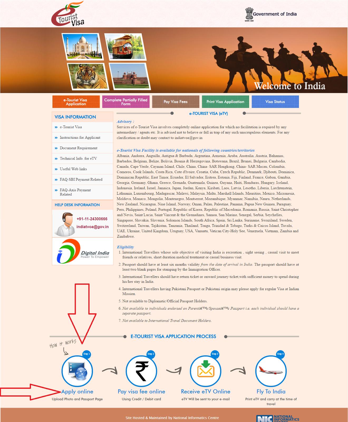 Cómo sacar el visado Online para India | Coleccionando Imanes