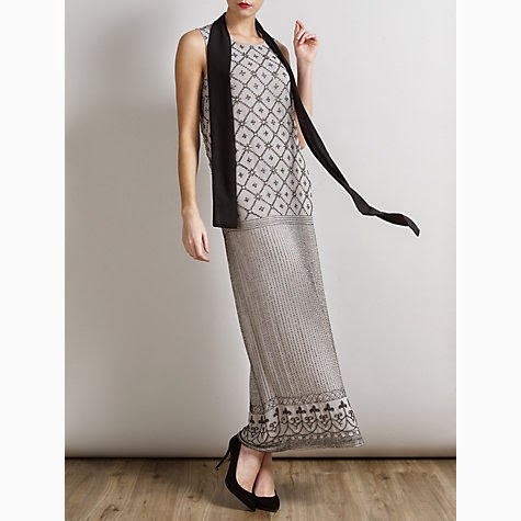Somerset by Alice Temperley Beaded Dress: Affordable Wedding Dresses - 1920s