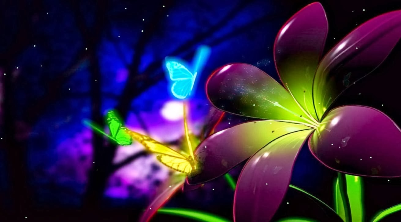 Free Animated Butterfly Wallpaper | Wallpaper Animated
