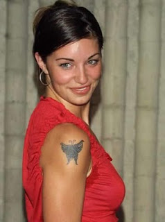 Bianca Kajlich Tattoos - Female Celebrity Tattoo Designs